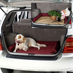 Protect your cargo area from dirty paws with our cargo area liner.
