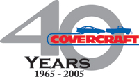Covercraft Car Covers - 40 Years Logo