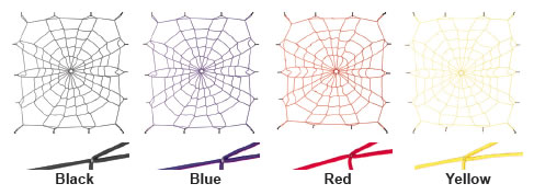 Spidy Gear Bed Web - Colors